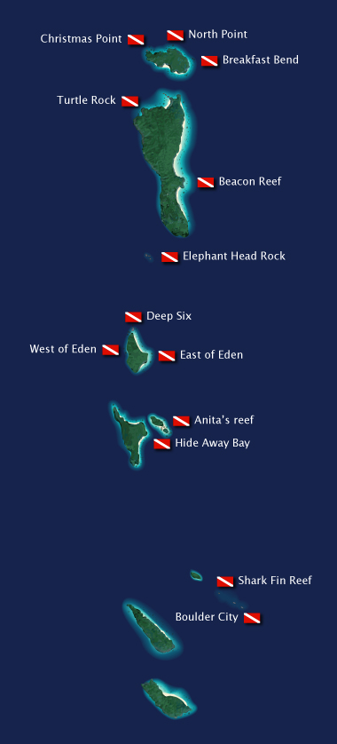 Similan Islands Dive Sites