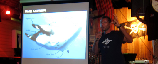 Dr Fabrice Jaine presents the Secret Life of Mantas